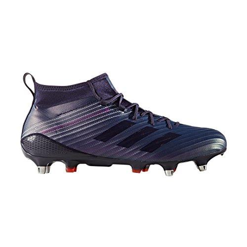 adidas Predator Flare SG, Scarpe da Rugby Uomo, Blu Tinnob/Narres 000, 48 2/3 EU