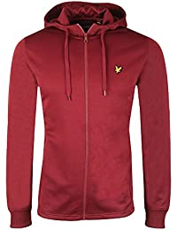 Lyle and Scott - Hooded Tricot Jacket, Claret Jug