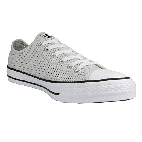 Converse Chuck Taylor All Star C551623, Baskets Basses Femme Hellgrau (Mouse/ White/Black)