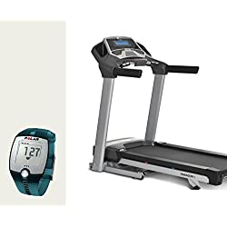 Horizon Fitness Paragon 6 Laufband Modell 2015 - FT1 Uhr Polar, Brustgurt und Bodenmatte