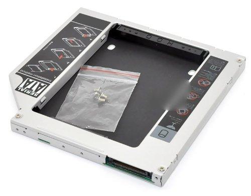 "HDD/SSD Adaptador para Apple MacBook (Pro) 13"" 15"" (2006 - Early 2008) sustituye SuperDrive 9.5 mm (SATA - Pata/IDE) - TheNatural2020"