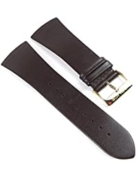 Police Skyline Ersatzband Uhrenarmband Leder Band Dunkelbraun für PL10849MSG-06