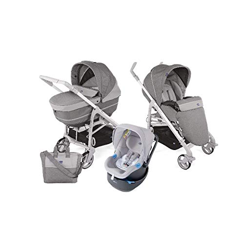 Trio Love Up bebe car - sistema modulare titanium