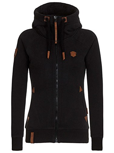 Naketano Female Hoody Blonder Engel IV Black