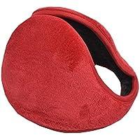 Ohrwärmer Männer und Frauen weichen Plüsch Winter Ohrenschützer, rot preisvergleich bei billige-tabletten.eu