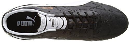 Puma - Esito Classico Sg, Scarpe da calcio Uomo Nero (Black-white-bronze 01)