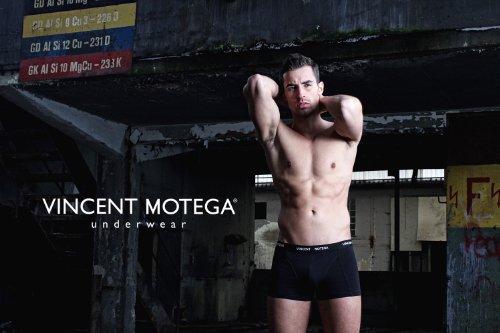 Vincent Motega Retropant 050 Schwarz
