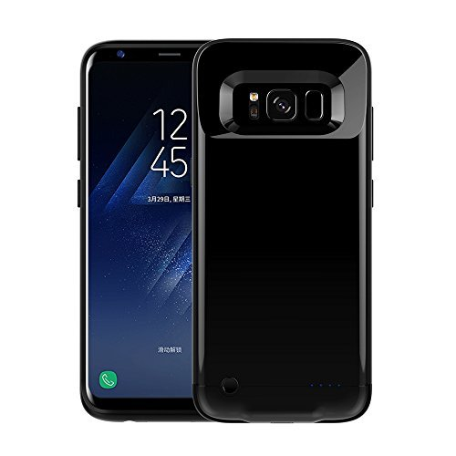 Galaxy s8 Battery Case – BIGFOX Galaxy S8 Ultra Thin Battery Case [Black]