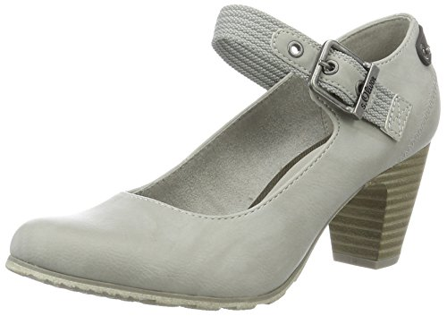 s.Oliver Damen 24406 Pumps, Grau (Lt Grey 210), 41 EU