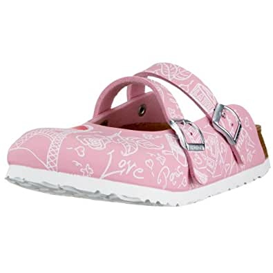 Birki Women's Dorian Clogs & Mules Pink 26 Schmal