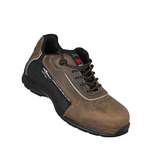 Aimont columbine s3 sRC chaussures de travail chaussures chaussures berufsschuhe businessschuhe plat marron Marron - Marron