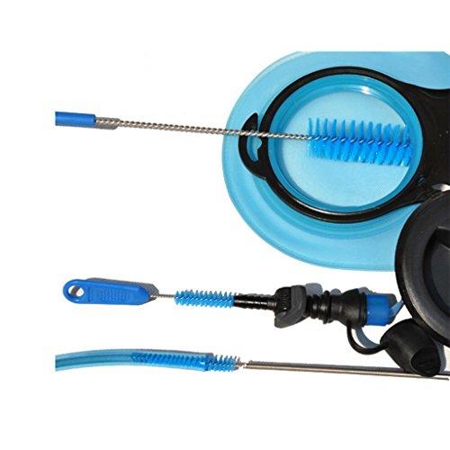 Hydration Pack Reinigungsset Trinkblasen,4 in 1 Trinkblase Reinigung Kit for Trinksystem Trinkrucksäcke Rucksack - 3