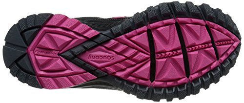 Saucony Women's Excursion Tr9 Road Running Shoe, Blue/Black/Red, 10 M US Negro/Rosado