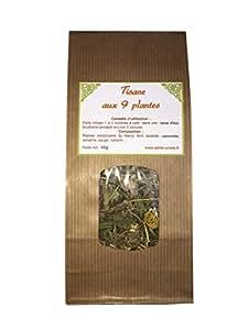 TISANE AUX 8 PLANTES MEDICINALE Camomille, verveine, romarin, lavande, sauge, bruyère, cypres, thym