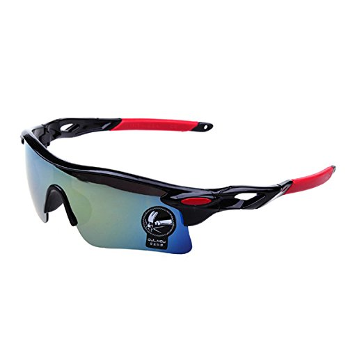 Fashion Outdoor Sports Cycling bicycle Bike Fishing Driving Sunglasses Eyewear Glasses (Golden)