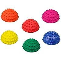ATC Handels GmbH Balance Igelr/ücken 6er Set /Ø 9cm Noppenball Massageball Halbkugel zur Steigerung der Balance//Koordination