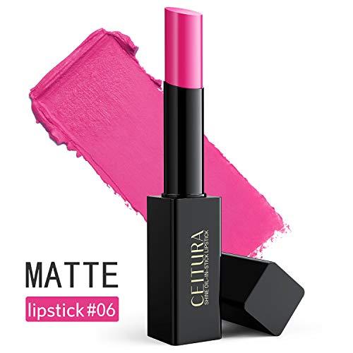 CEITURA Moisture Matt Lippenstift für Personalisiert Make-up,Authentisch Barbie Pink #006, 1 pack