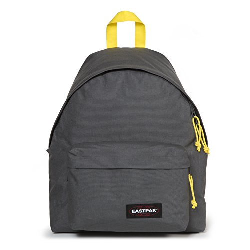 Eastpak Padded Pak'R Mochila, 40 cm, 24 L, Gris (Grey/Yellow)