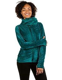 Bench Damen Strickjacke Core Velvet Fleece Funnel