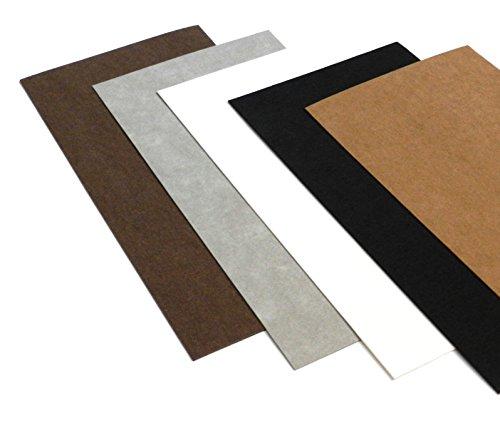 Ollexo SnapPap waschbares Papier Snap Pap 10x21 cm (Set aus 5 Bögen) -