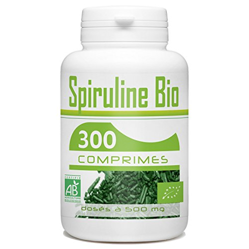 Spiruline Bio AB 500mg - 300 comprimés