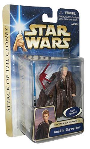 Hasbro Figura de acción de Star Wars Saga Anakin Skywalker Secret Ceremony
