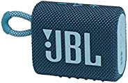JBL Go 3 portable Waterproof Speaker-Blue, JBLGO3BLU