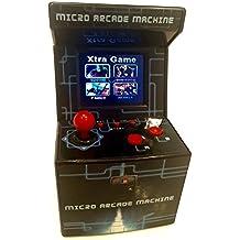 Máquina Mini Arcade SHOPMARCAS - retro 16 bits - 240 juegos