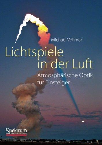 Buchcover: Lichtspiele in der Luft: Atmosphärische Optik für Einsteiger