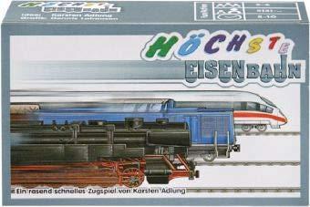 Adlung Spiele 121040Gran Ferrocarril, Juego de Cartas