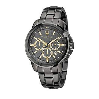 Reloj para Hombre, Colección Successo, con Movimiento de Cuarzo y función cronógrafo, en Acero y pvd Gris – R8873621007
