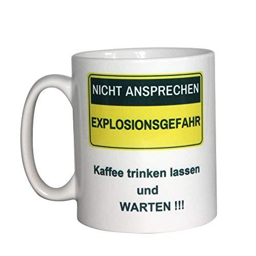 Unbekannt Tasse Nicht ansprechen für Morgenmuffel Kaffeebecher