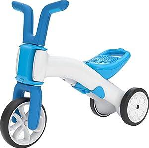 Chillafish BUNZI2 - Bicicleta de Equilibrio 2 en 1, Color Azul