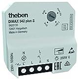 Theben 5420130 DIMAX 542 plus S - Universaldimmer mit automatischer Lasterkennung und Poti-Bedienung