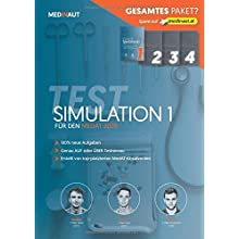 MEDINAUT: MedAT 2020 - Testsimulation 1 für den MedAT 2020 - Erstellt von top-platzierten Absolventen, 100% neue Aufgaben, sehr testnah / Band 1 ... 2020 (MEDINAUT TESTSIMULATIONEN, Band 1)