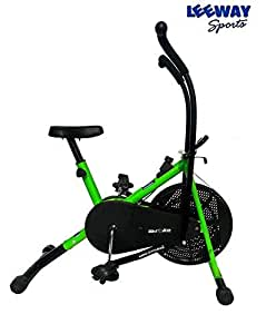 Buy Leeway Air Bike Exercise Cycle Moving Handle Gym Bike