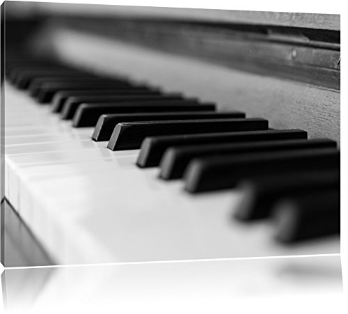 Elegante pianoforte, pittura su tela, Immagini XXL completamente incorniciate con grandi cornici di cuneo, foto muro Stampa artistica con cornice, più economico di pittura o di un dipinto a olio, non un manifesto o un cartello, Leinwand Format:120x80 cm