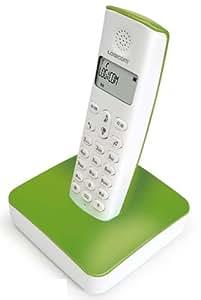 Logicom RIVA 250 Green Téléphones Sans fil Ecran Vert et Blanc