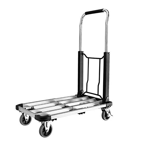 WYX Klapphand-Truck, Portable Trolley, Maximum Load-Bearing150 KG Can Shopping, Business Travel, Cargo Handling, Gepäck mehr