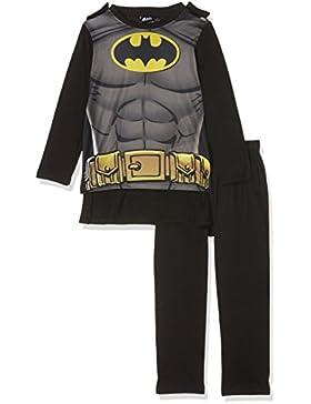 Batman Chicos Pijama - Negro