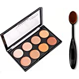 Best Contouring Kits - Adbeni Mars complete contouring with oval makeup brush Review