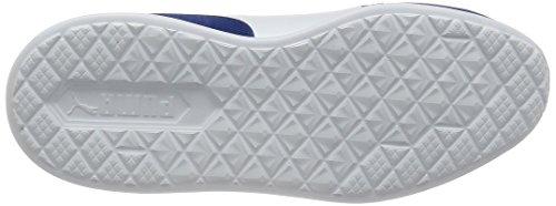 Puma 361638 Sneakers Bambino True Blue-Puma White
