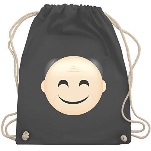 Opa - Opa Emoji - Unisize - Dunkelgrau - WM110 - Turnbeutel & Gym Bag