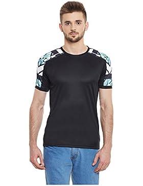 Yepme - Camiseta Dean De Cuello Redondo - Negro