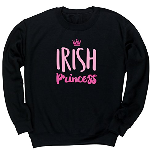 hippowarehouse-irish-princess-unisex-jumper-sweatshirt-pullover