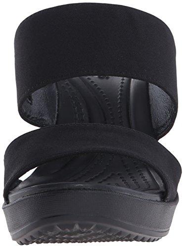 Crocs Leigh Ii 2, Sabots femme Noir (Black)