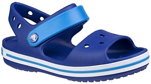 crocs Kinder Crocband Sandalen (33-34 EU) (Violett/Blau)