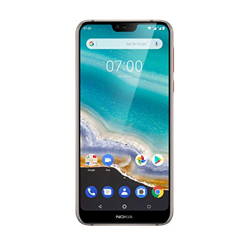 Nokia 7.1 Dual SIM Smartphone (5,84 Pulgadas Full HD Display, 32 GB de Memoria Interna, Android 9.0)