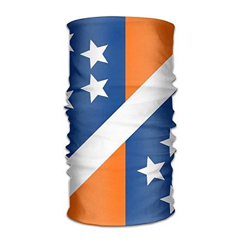 RGFJJE Sturmhauben New York City Flag USA Quick Dry Microfiber Headwear Outdoor Magic Bandana As Neck Gaiter Head Wrap Headband Scarf Face Mask Ultra Soft Elastic One Size
