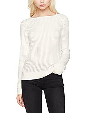 Only Onlrose Rib L/S Pullover Knt Noos, Suéter para Mujer
